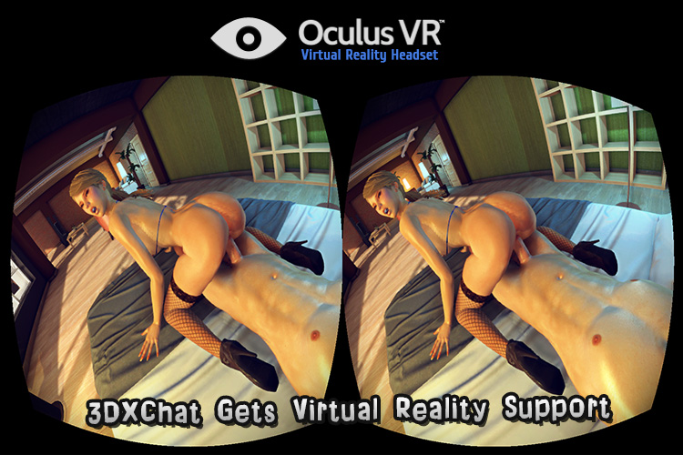 Oculus Rift 3d sex game